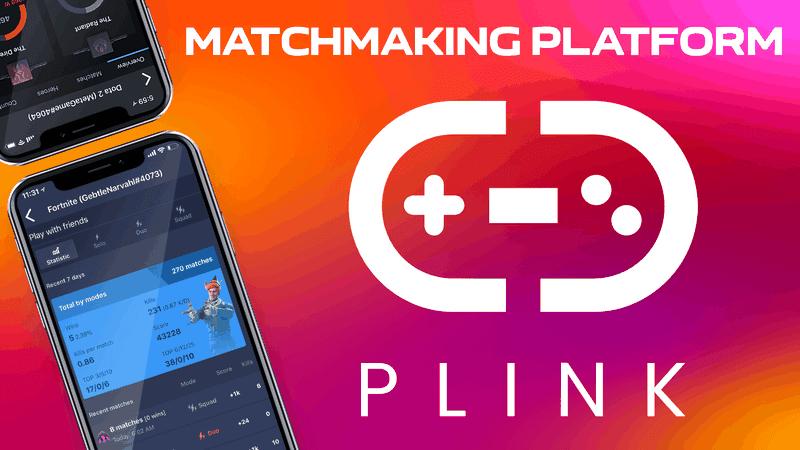 app to find gaming buddies - PLINK