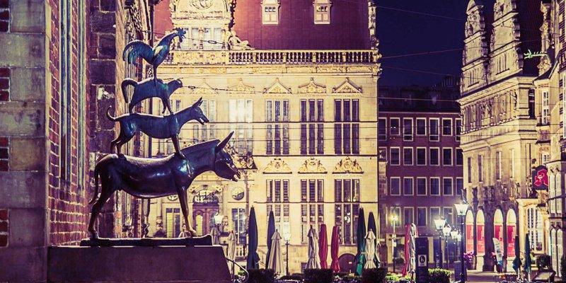 Town Musicians of Bremen in the best German student city