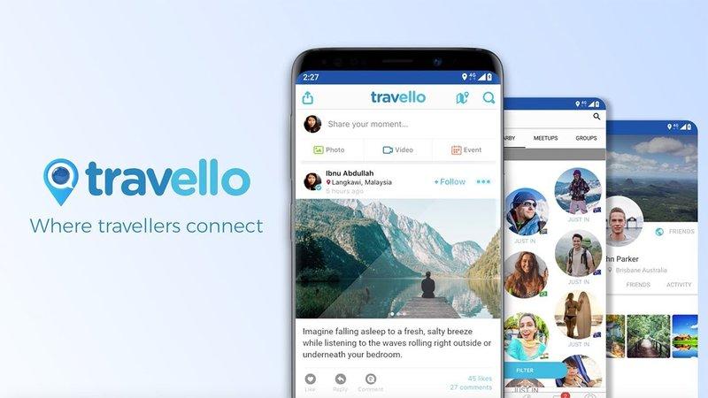 App to find travel buddies - Travello