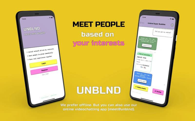 app to meet like-minded people