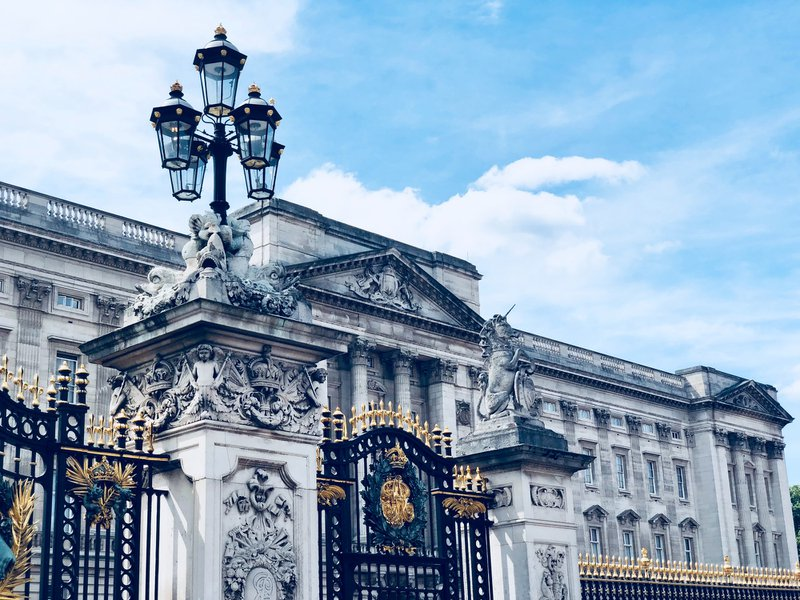 Buckingham palace in the best student city in UK