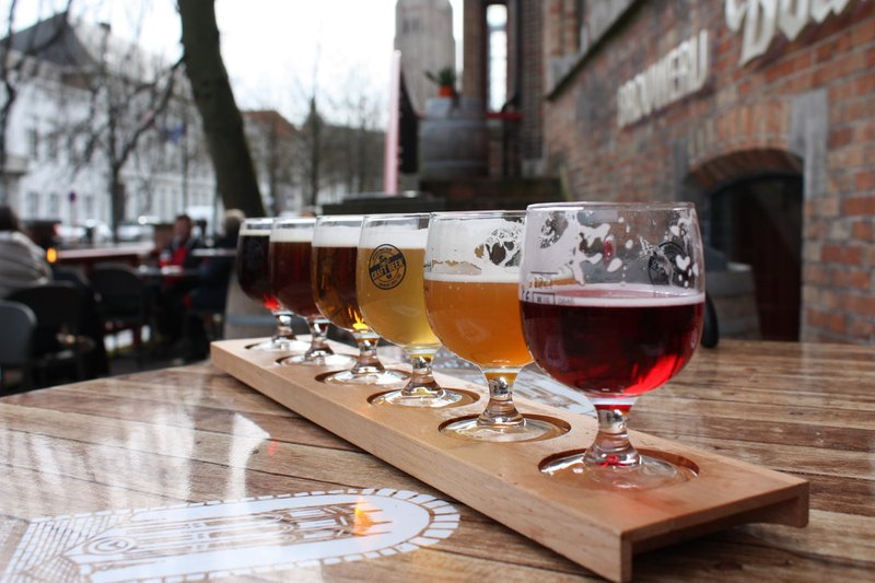 Brewery, Bruges, Belgium