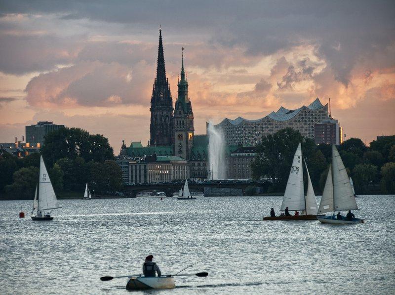 Hamburg Best student city in Germany