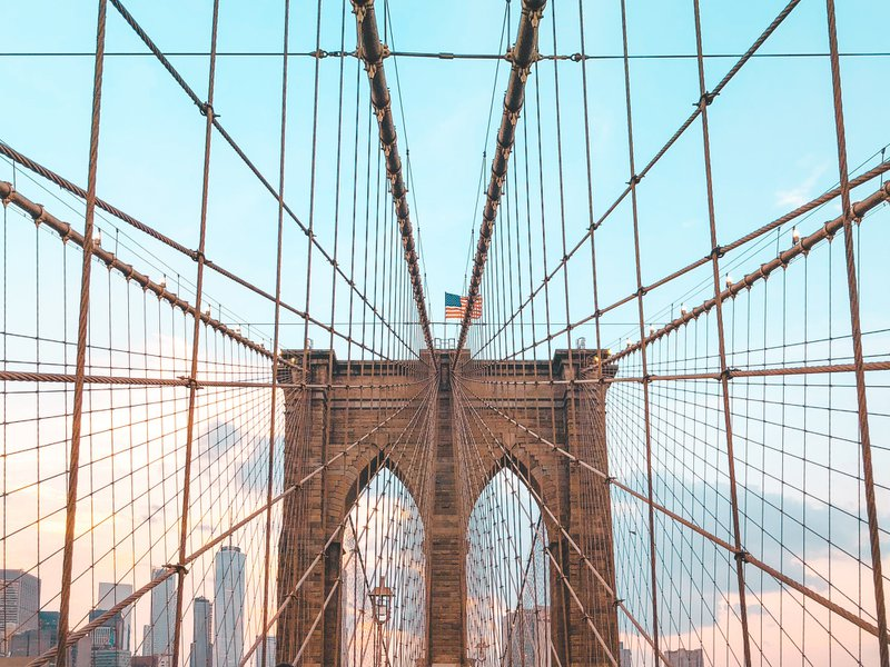 Brooklyn Bridge - sightseeing in New York