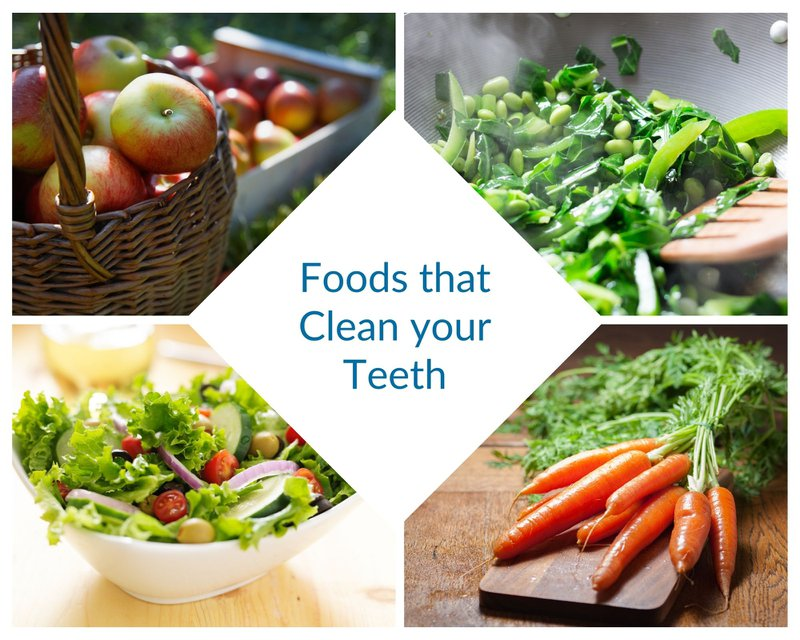Foods that clean your teeth