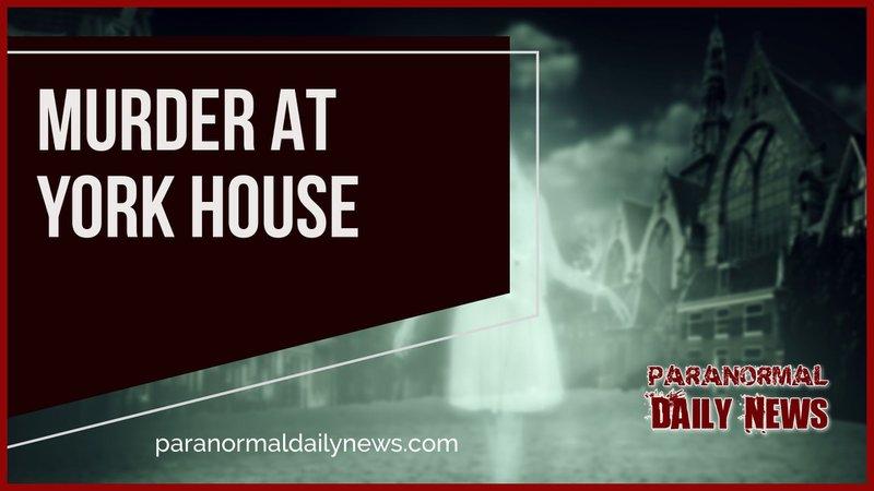Murder at the Treasurer's House York