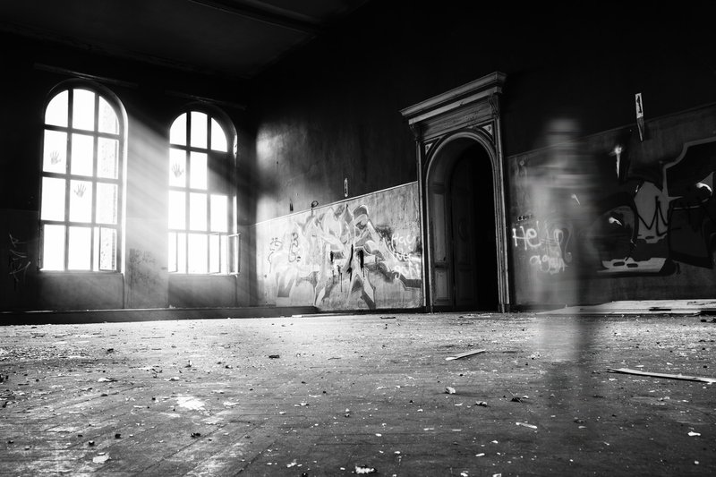 "Was taken in an old lost school in east Germany, a town named ""Zeitz""."