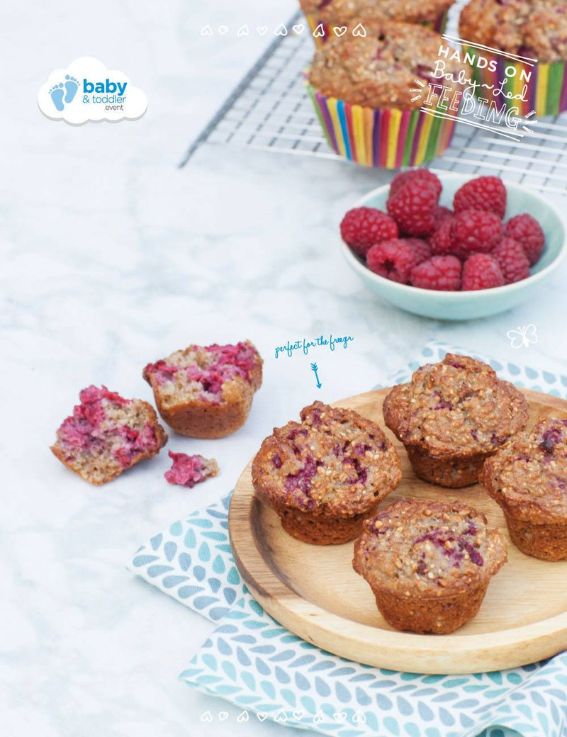 baby led weaning breakfast muffins