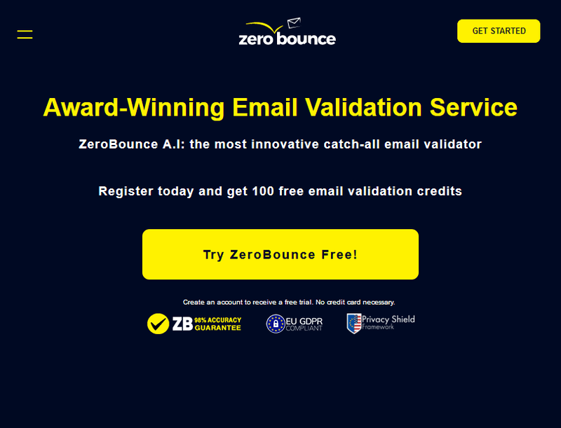 xerobounce email verification