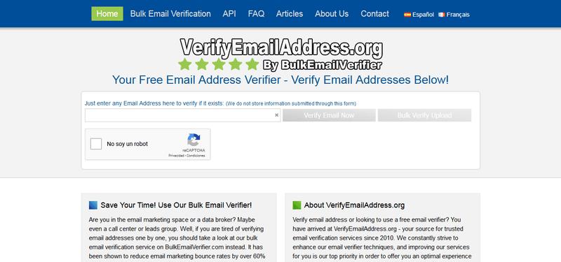 verify email addresses