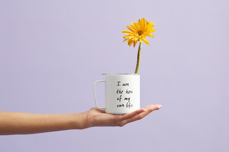 from our little shop https://shopcatalog.com/12oz-camp-mug-youre-the-hero-of-your-own-life/