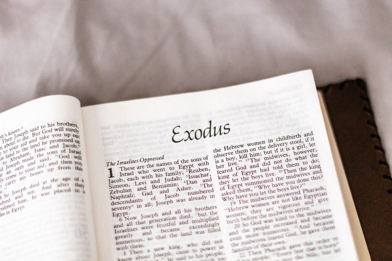 The Bible book of Exodus