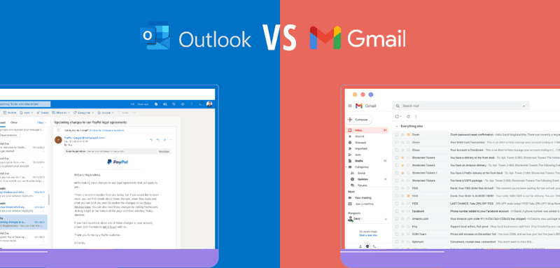 Outlook vs Gmail - which one do you prefer