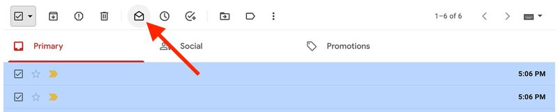 Mark Emails as Read in Gmail