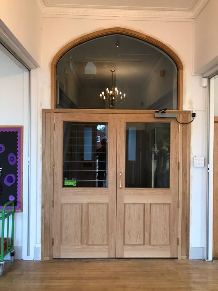 Cobham School Fire Doors