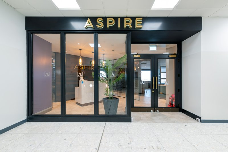 Aspire Edinburgh Entrance Fire doors