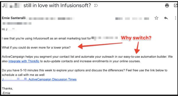 lead generation with cold email outreach