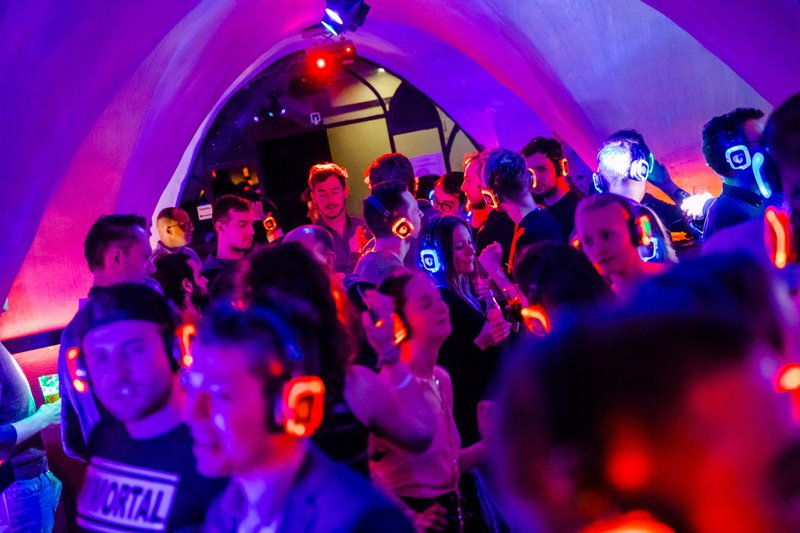 ABACHO SILENT DISCO: clubs in Ghent
