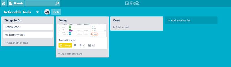 trello-board-virtual assistants