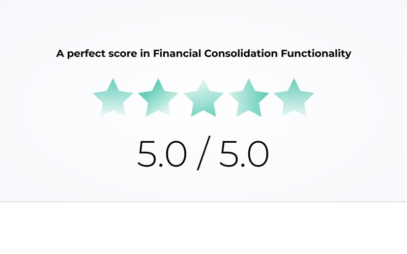 Fluence: a perfect score in financial consolidation software
