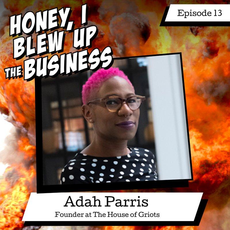 Podcast episode 13: Adah Parris