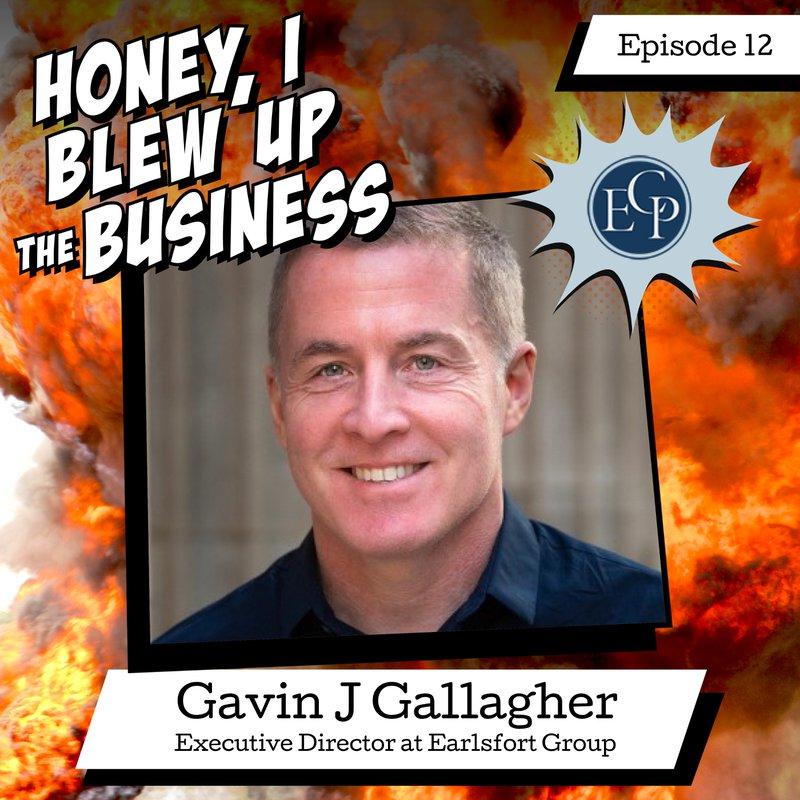 Podcast Episode 12: Gavin J Gallagher