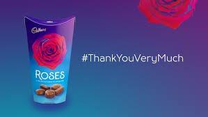 Give Cadbury Roses To Show Gratitude