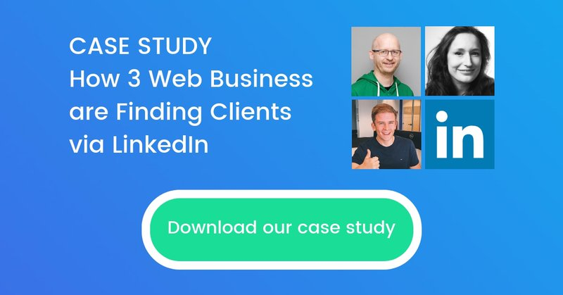 Finding Clients via LinkedIn case study