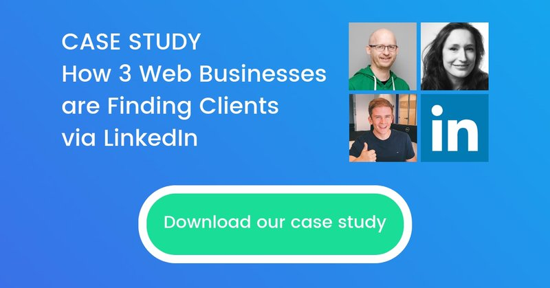 Download the case study on how three web businesses are generating leads via linkedin