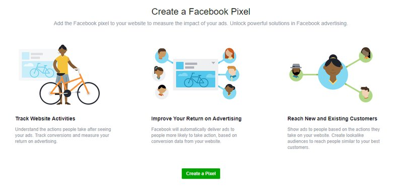 creating a facebook pixel