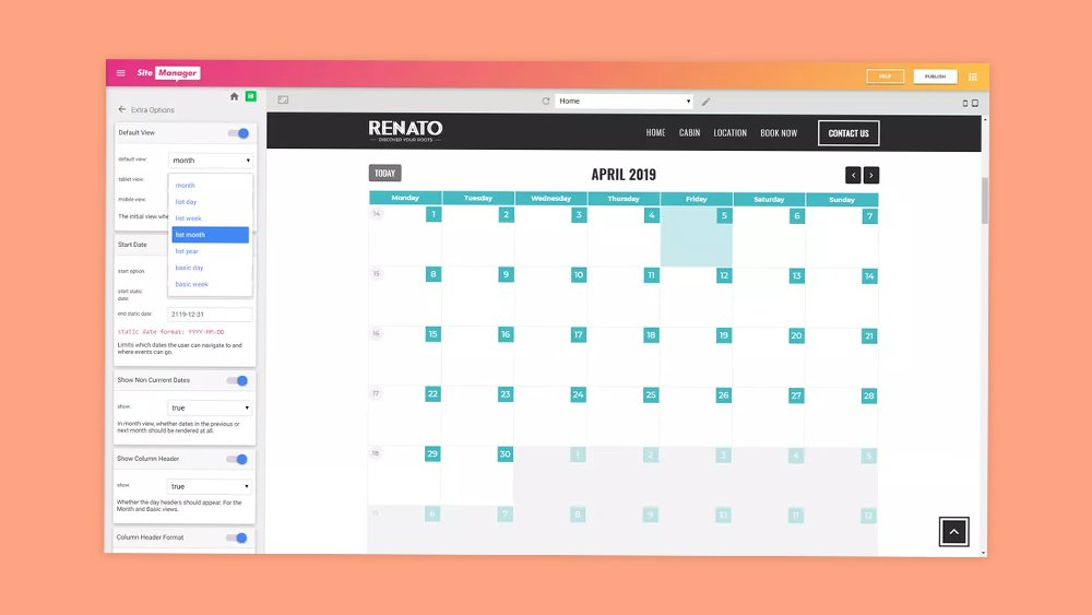 📅 New Plug&Play database: Calendar