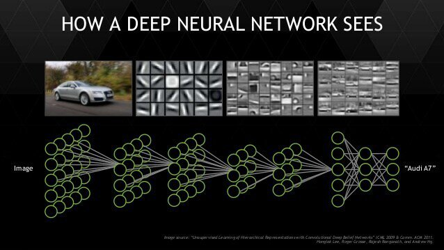 how a deep neural network sees