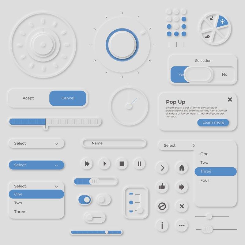 Neumorphism in UX Design