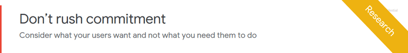 Google's website lead generation advice