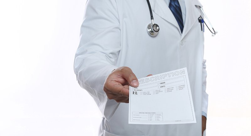 Giving a prescription
