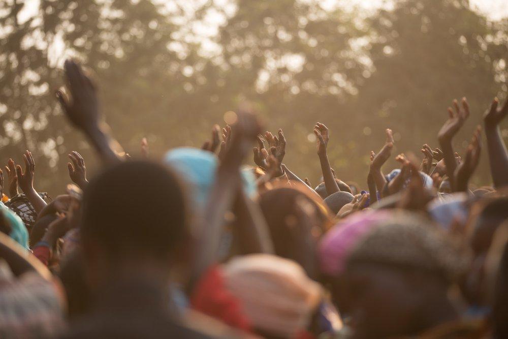 Gospel crusade in Africa