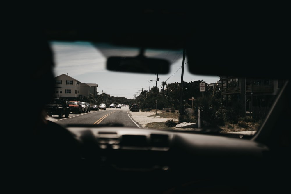 Online ministry - through the back seat of the car