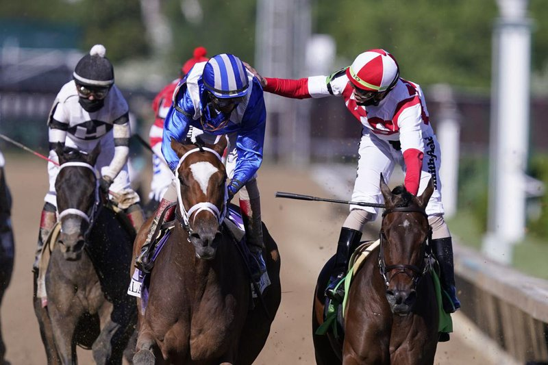 Malathaat wins the Kentucky Oaks over Search Results