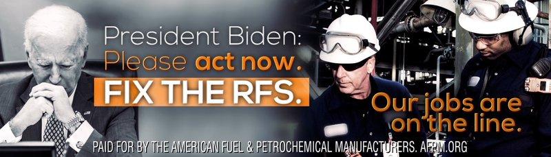 President Biden: Fix the RFS PA Billboard