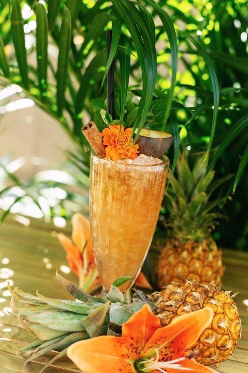 cocktail tropisch tiki