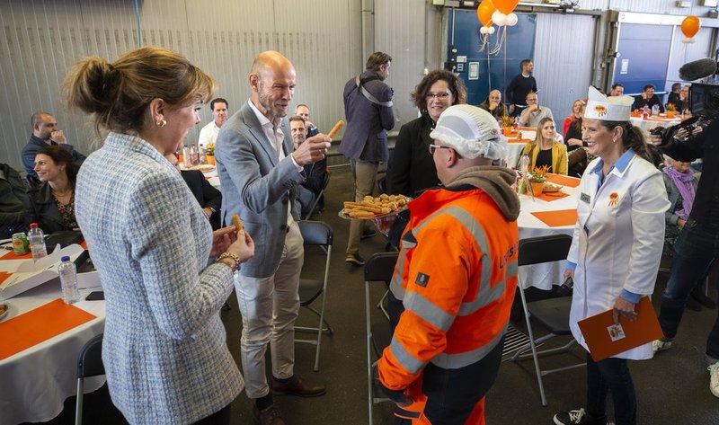 Nederland, Maastricht , 08-10-2021Opening nieuwe hal van MORA fabriek.  Foto;Annemiek Mommers