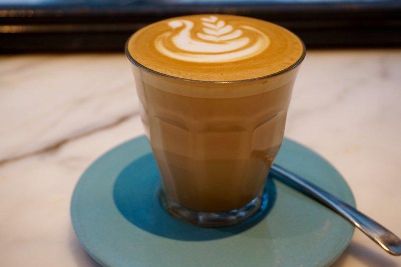 koffiemelk amandel