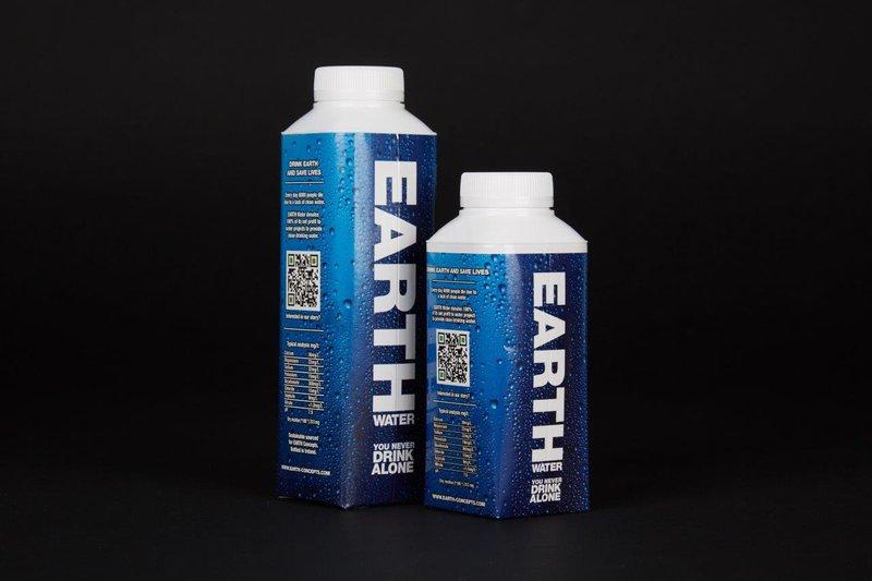 EARTH Water stopt met plastic flesjes en kiest voor duurzame Tetra Pak-verpakking.