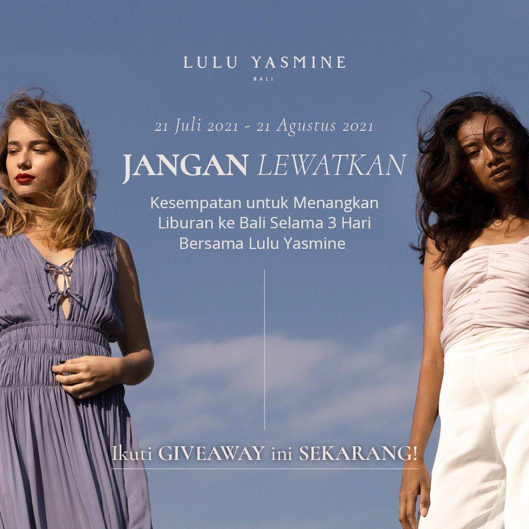 Giveaway - Lulu Yasmine