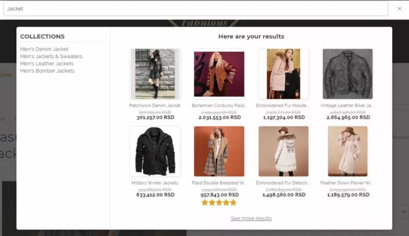 Ecommerce CRO tip: Instant Search