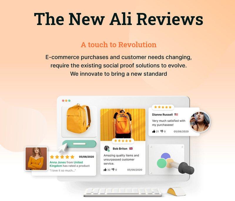 Judge.me alternatives: Ali Reviews