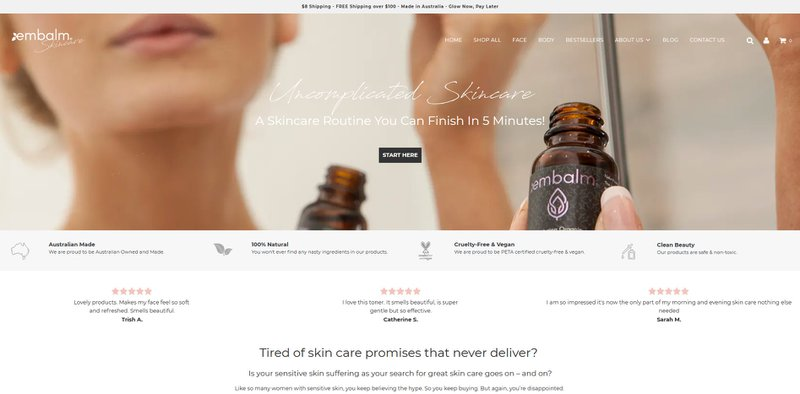 eCommerce user experience best practices - nice website design