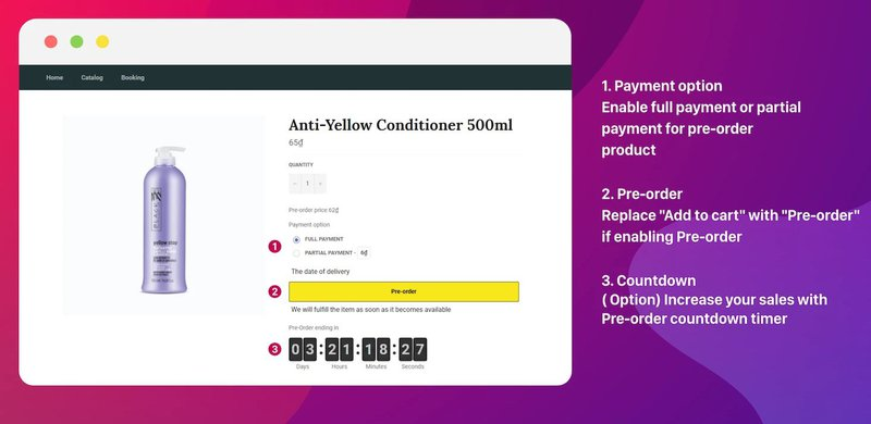 Globo Pre‑Order — Payment options