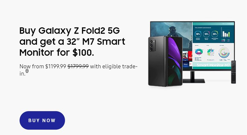 Samsung – Moving new products in a bundle
