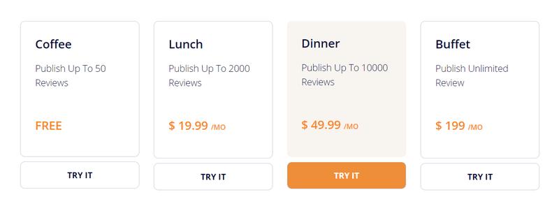 Kudobuzz Pricing